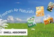Smell Gone! / 100% Natural, Safe and Effective Odour Eliminators