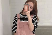 Overalls / Pinafore dress and overalls