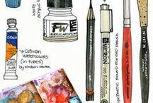 Water/Pen