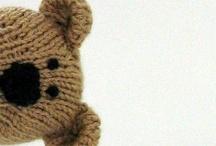 Knitting kids toys