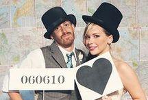 Wedding : photobooth & activities to entertain kids & grown-ups / Wedding photobooth & DIY activity ideas & inspirations. / Idées et inspirations photobooth mariage et activités pour petits et grands.