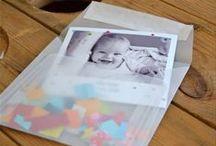 Birth announcements / Scrapbooking cards for kids and birth annoucements / cartes pour enfants, faire-part de naissance