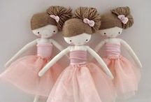 Sewing & knitting kids' dolls & toys / Sewing, knitting DIY ideas and tutorials : dolls, soft toys, room / Couture, tricot idées et tutoriels : peluches, poupées, chambre
