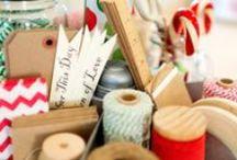 {Winter} Holiday Ribbon Crafts / Wonderful winter holiday ribbon crafts to cozy up to.