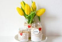 Handmade Gifts with Ribbon