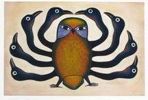Birds in art