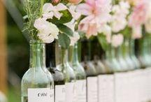 Wedding : the perfect decor / Wedding decoration DIY inspirations and ideas. / Idées et inspirations décorations de mariage.