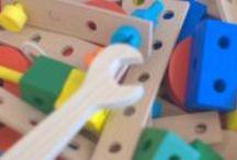 Materials d'aprenentatge / Materials d'aprenentatge autònom als ambients preparats de l'escola Espai Obert La Serra. Selflearning stuff in prepared environments in School Espai Obert la Serra