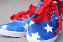Patriotic Crafts for 4th of July!