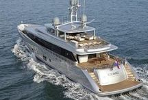 Aboard Boats & Yachts / Interior & exterior designs of boats & yachts