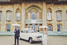 Quirky Wedding Transportation / Getting to your wedding is both a physical and emotional journey. Excitement, nerves and anticipation are usually at an all time high.  So, why not opt for something a little different, creative and out of the ordinary than the traditional chauffeur-driven white limousine ride?