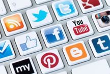 Social Media / Here #Social #Media #SocialMedia #SocialNetwork #Facebook #Twitter #Instagram #Pinterest #Linkedin