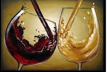 Paint and wine / Paint and wine night inspiration