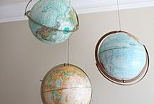 Home decoration : the world inside the home / Everything globes and maps