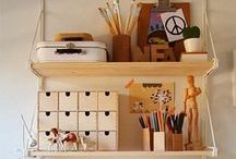 Home decoration : office, craft room, gaming room, garage