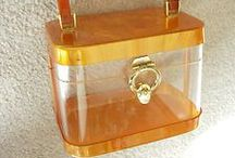 Handbags - Vintage / Vintage handbags and purses, victorian, art deco, 20s - 80s Lucite handbags, evening bags and purses