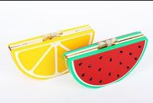 Handbags - Food & Fruit / Handbags with shape or image of food, fruit, vegetable or anything eatable