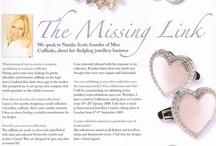 Media, press, PR / Miss Cufflinks - online store specializing in cufflinks for ladies. www.misscufflinks.com