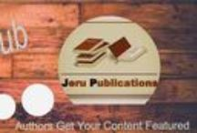 Jeru Publications / We help authors dream of becoming published come true. We handle everything from start-to-finish. Visit us at www.jerupublications.webs.com Visit our blog at www.jerupublications.blogspot.com