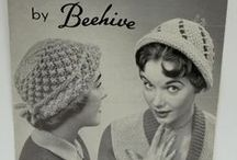 Beehive Womens Archive / A collection of the archive Beehive ad's and knitting patters.  A curation of a lost style, glamour and femininity.
