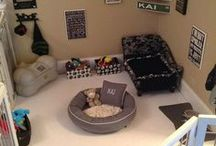 Dog Dream House / Ideas and accessories for the perfect dog dream house.