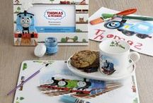 Children's tableware - our favourite characters / These licensed collections are sure to make tea time a treat for children everywhere.