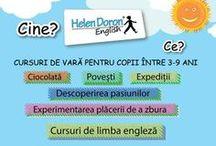 Cursuri de vară în limba engleză / Cursurile de vară oferite de Helen Doron English vor asigura copilului dumneavoastră cea mai distractivă vară: curs de limba #engleză, ateliere de creație, jocuri in/outdoor, ieșiri în aer liber, exerciții fizice, muzică și voie bună!