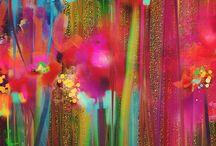 GCSE Y10 P2 Flowers / Gcse Project 2  Floral, Botanicals  Artists, Ideas and Inspiration Remember to reference artists  / Mrs B Art Teacher adlı kullanıcıdan