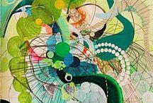 GCSE 2015 Spirals / Qu 6 / by Mrs B Art Teacher