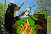 Stained Glass / Stain glass artwork.  / by Sammy Loveday