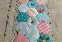 Hexi - English paper piecing