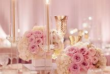 Pretty in pink / Wedding ideas with a splash of pink, from baby to blush, dusky to hot hot hot
