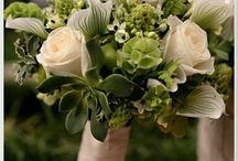 Green Shades / Green wedding decor to inspire