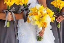Mellow yellows / Yellow inspired wedding inspiration to bring spring dreams to your wedding decor