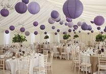 Purple Shades / Purple wedding decor ideas to inspire