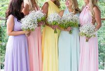 Pastel Shades / Pastel wedding decor to inspire