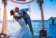 Destination Weddings / Beach themed ideas for destination weddings.