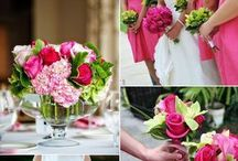 Pink & green wedding ideas