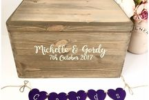 Card boxes Old Potting Shed exclusive / Wedding card boxes which make a great keepsake after for all your wedding memories