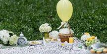 Piknik s nádechem noblesy / Piknik s nádechem noblesy - piknik pro Lenku s rodinkou jsme připravili s jemným nádechem noblesy.