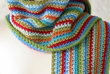 Crochet scarf - shawl / by Les broderies de Sophie