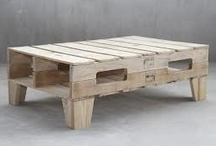 STUFF TO MAKE WITH PALLETS / by Janet Recer Heurter