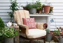 outdoor living xx / patio,gardens,porches,, relaxing time / by Sharon Brown