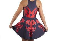 Nerdy Dresses & Skirts / Just because you dress up doesn't mean you can't dress like a geek.