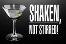 Shaken not Stirred / Uno de los actores de reparto a lo largo de lahistoria de la cinematografía: El Acohol