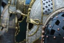 Shields and Armour / Shields and armour, both original and reconstructed, as well as the occasional non-historical pieces from films or other forms of art