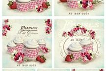 Printables - Cakes, Cupcakes & other sweets