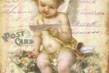 Printables - Babies, angels & cherubs