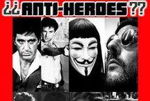 Antiheroes / No son amables, ni buenos, ni siquiera honrados… pero su gancho es indiscutible. El cine nos ha regalado antihéroes a los que nos encanta odiar, y odiamos que nos encanten. Os presentamos a los malotes más carismáticos de la gran pantalla.