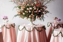 Weddings - Table decor & Chair covers